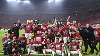 Ungarn feiert seine Qualifikation für die nächste Europameisterschaft