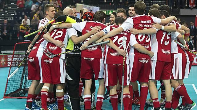 Kantersieg für Schweizer Unihockey-Nati