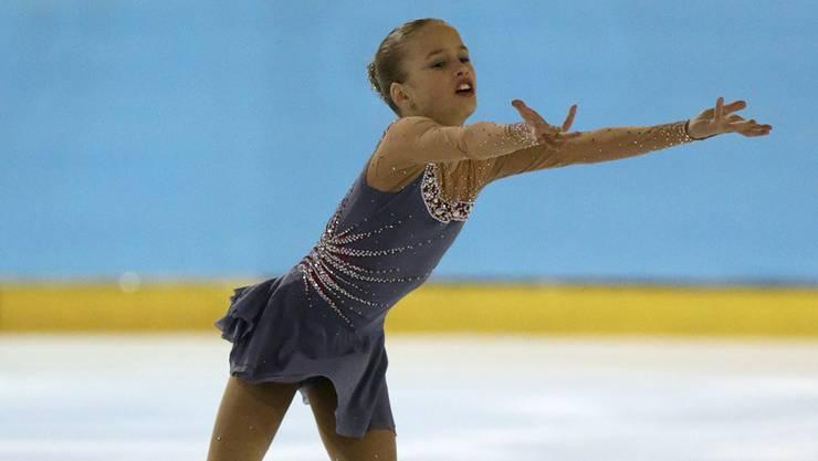 Kimmy Repond wurde in ihrer Kategorie Schweizermeisterin.