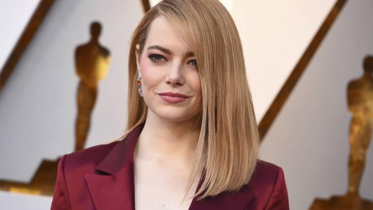 """Emma Stone spielt in der Netflix-Serie """"Maniac"""", die am 21. September weltweit startet. (Archiv)"""