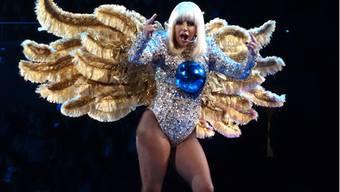 Lady Gaga auf artRAVE-Tour in London - in Zürich waren keine Fotografen zugelassen.