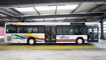 Der az-Wahlkampfbus wird umgebaut