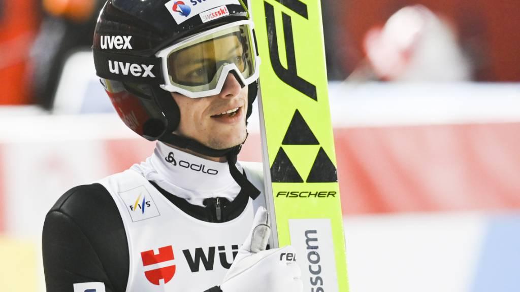 Daumen hoch für Gregor Deschwanden: Mit dem Verlauf der Saison darf er im Grossen und Ganzen zufrieden sein.