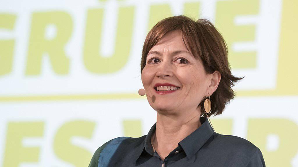 Grünen-Parteipräsidentin Regula Rytz will die eidgenössischen Wahlen 2019 zur «Klimawahl» machen.