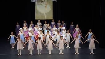 Ballettvorführung im Parktheater