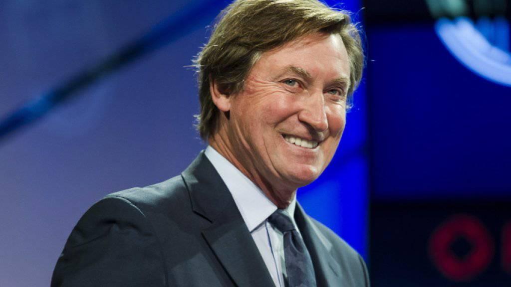 Wayne Gretzky spricht in hohen Tönen vom Schweizer Nico Hischier