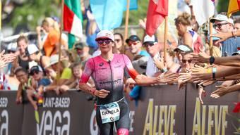 Unterstützung in schwierigen Zeiten: Die Profi-Triathleten (im Bild Daniela Ryf) erhalten von ihrem Verband einen vorgezogenen und vergrössxerten Geldsegen