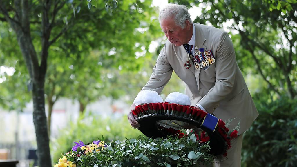 Grossbritannien gedenkt dem Ende des Zweiten Weltkriegs im Pazifik