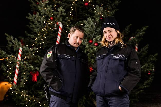 Bühnen-Profis, nun für eine Serie vor der Kamera: Gabriel Vetter und Lara Stoll, das Ostschweizer Humor-Power-Couple.