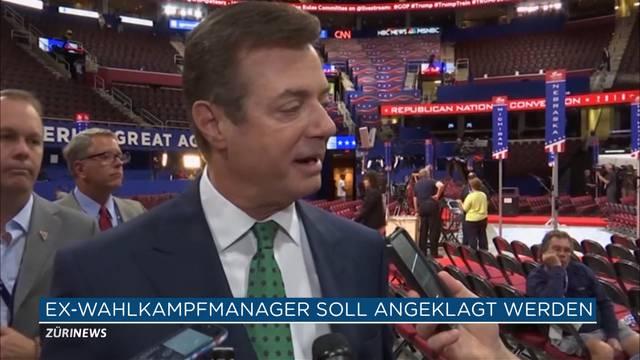 Ex-Wahlkampfmanager von Trump stellt sich
