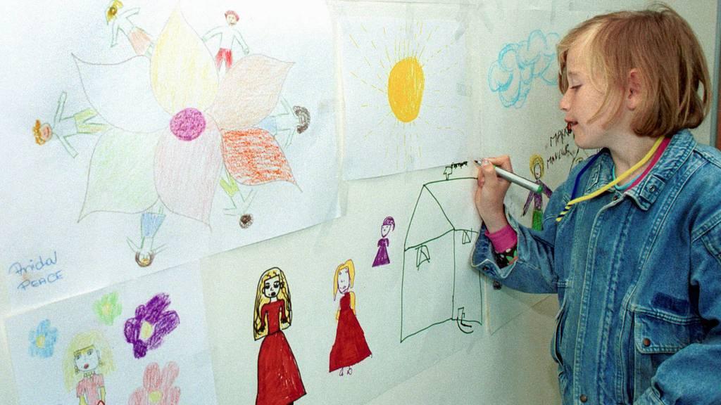 Malen für die Risikogruppe im Altersheim