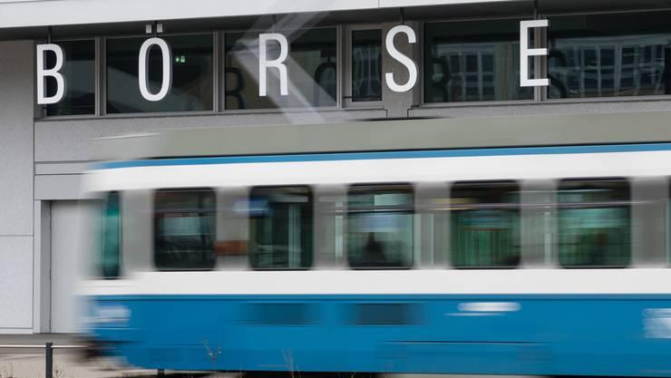 Die Börse an der Pfingstweidstrasse in Zürich.
