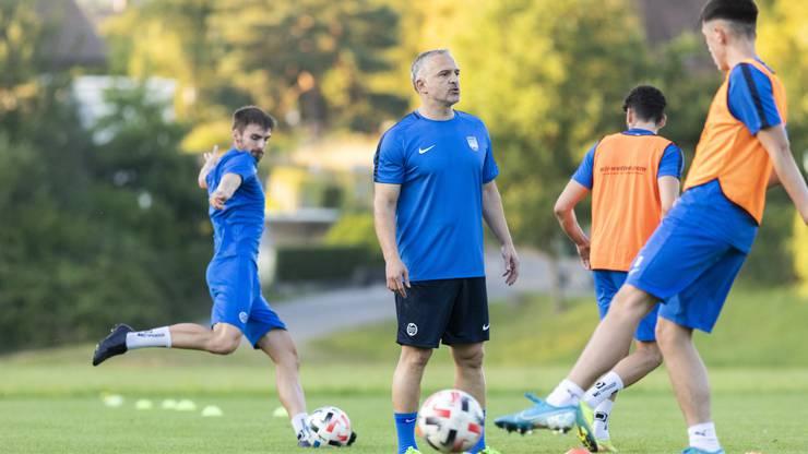 Samuel Drakopulos erlebt einen schwierigen Start beim FC Lenzburg.