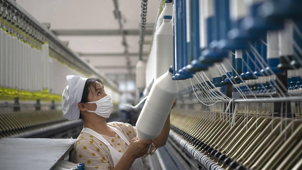 Chinesische Industrie übertrifft die Erwartungen im Juli