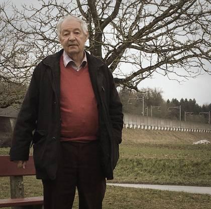 Urs Vock, pensionierter Lehrer und Präsident des Verschönerungsvereins Rupperswil.