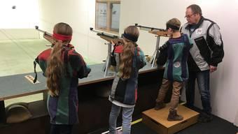 Am Juniorentreffen zeigten die jungen Schützinnen und Schützen ihr Können.