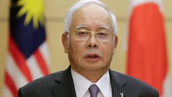 Der malaysische Regierungschef hat erstmals vorgezogene Neuwahlen in Aussicht gestellt. (Archiv)