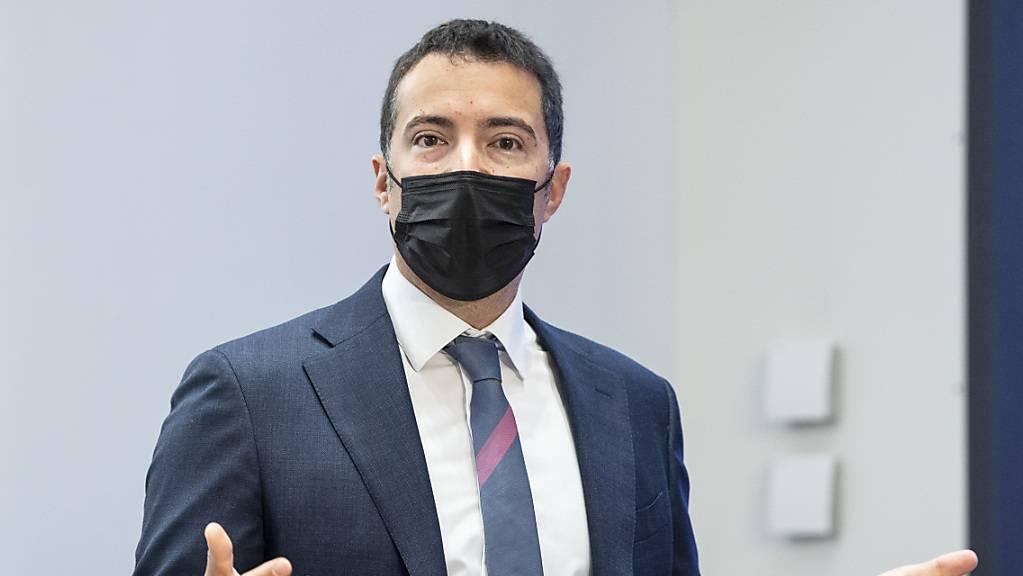 Für die Suche nach einem neuen Bundesanwalt oder einer neuen Bundesanwältin braucht es einen dritten Anlauf. Das gab Ständerat Andrea Caroni (FDP/AR) vor den Medien bekannt. (Archivbild)