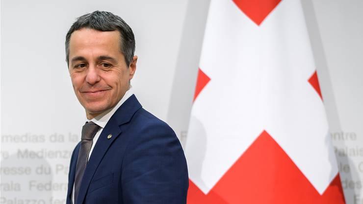 Aussenminister Ignazio Cassis betont die Eigeninteressen der Schweiz in der Entwicklungshilfe.