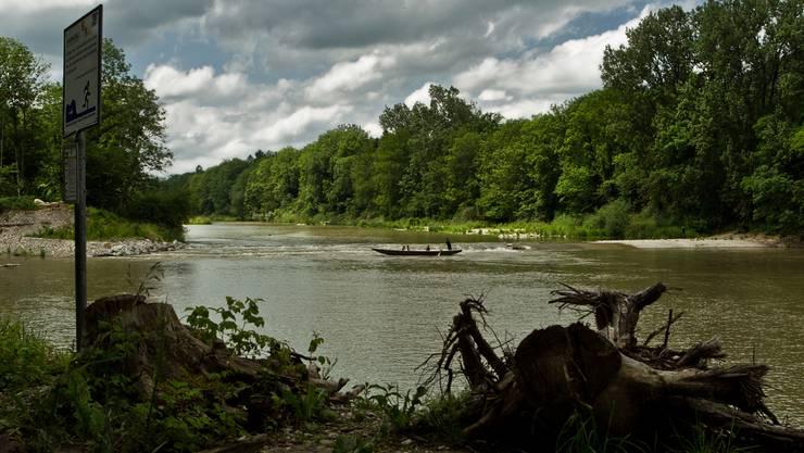Mit dem Bau der dynamischen Flussaue ist in Rupperswil ein bedeutendes Naherholungsgebiet entstanden.