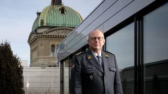 Armeechef Philippe Rebord: «Alkohol in der Öffentlichkeit zu trinken, ist nicht erwünscht. Das vermittelt kein gutes Image.» Daniel Rihs