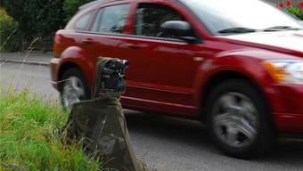 Die Fahrzeuge der Verkehrssünder waren alle mit Schweizer Kontrollschildern versehen. (Symbolbild)