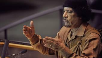 Libyens Diktator sprach 90 Minuten vor der UNO-Vollversammlung