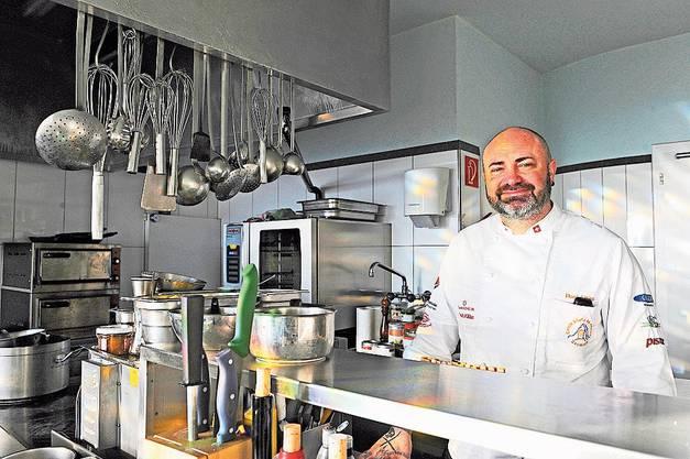 Oftringen, 23. Januar: Sternekoch Daniel Pittet hat den Oftringer Landgasthof Lauterbach als Küchenchef und Geschäftsführer übernommen.