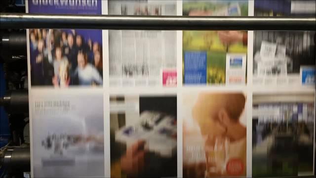 Zeitungsproduktion AZ Medien