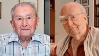 Zwei Zeitzeugen erzählen von ihrer Zeit im Krieg: Der Liestaler Edgar Strub (97) und der Wolfsburger Karl-Heinz Mayer (98).