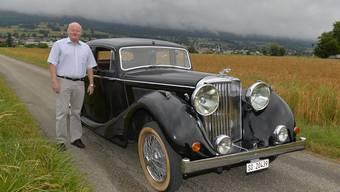 Restaurierung des Jaguar SS