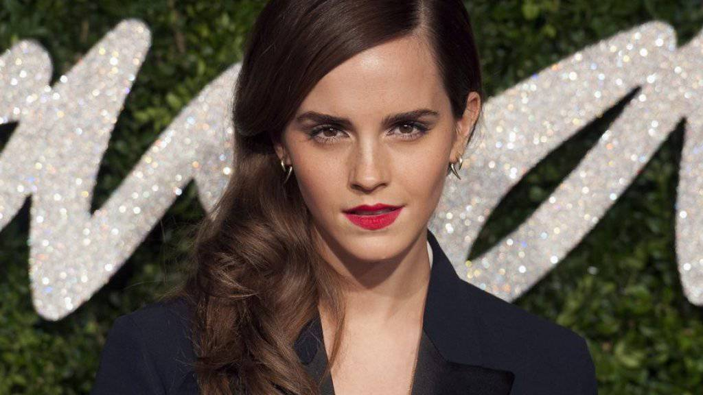 Kluges Köpfchen: Emma Watson will ihre Persönlichkeit weiterentwickeln statt neue Filme zu drehen (Archiv)