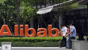 Amazon-Pendant Alibaba will in den USA hoch hinaus (Archivbild)