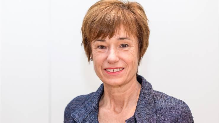 Ruth Humbel (CVP): «Älteren ausgesteuerten Menschen vor dem ordentlichen Rentenalter soll der Lebensunterhalt gesichert werden, ohne dass sie auf Sozialhilfe zurückgreifen müssen.»