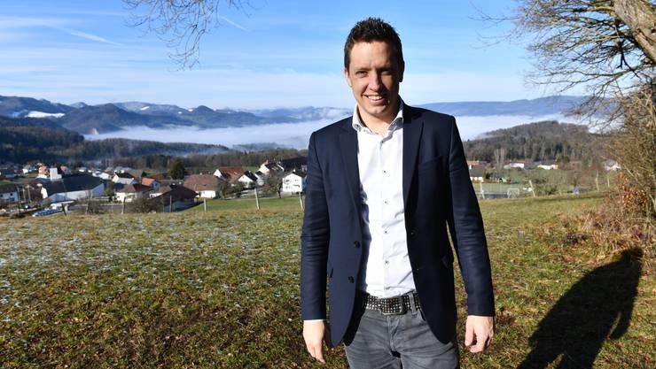 Christian Imark will im Kanton Solothurn als erster Vertreter überhaupt für die SVP in die kleine Kammer einziehen.