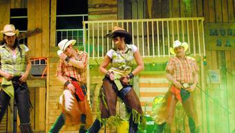 So kennt man die Rodeo Liner Gang mit ihrer Show. zvg