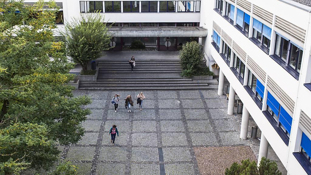 Die Kantonsschule Sargans kann nun erweitert und saniert werden. Das Projekt war bereits 2014 an der Urne bewilligt worden. (Archivbild)