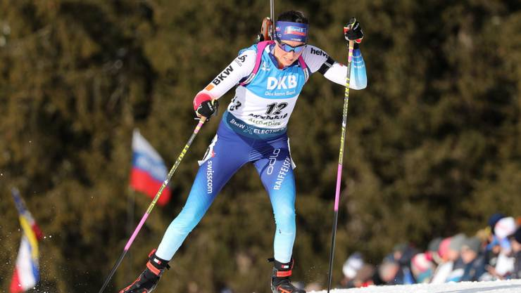 Aita Gasparin läuft in Antholz zu Bestform auf.