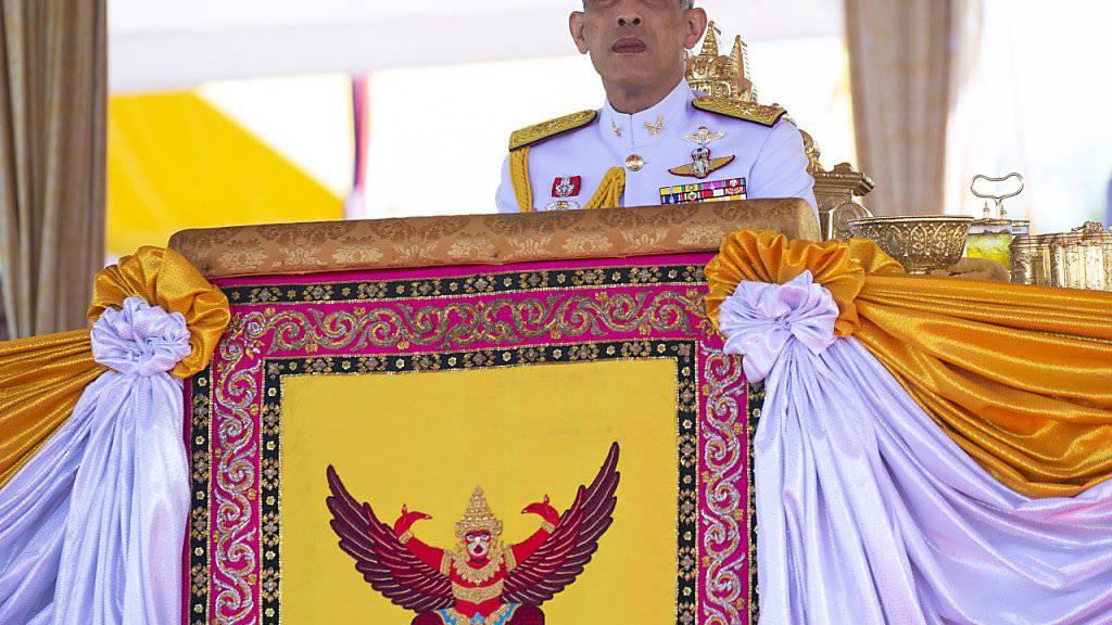Thailands König Maha Vajiralongkorn ist fortan alleiniger Besitzer des königlichen Milliarden-Vermögens. (Archiv)