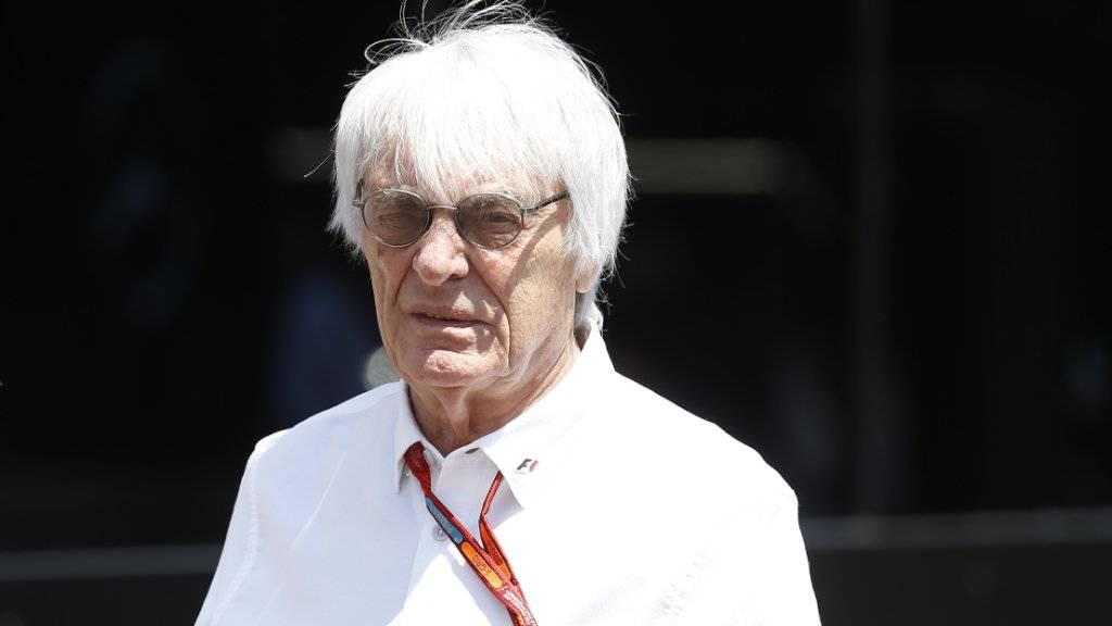 Der bald 86-jährige Bernie Ecclestone steht vor einem Verkauf der Formel 1