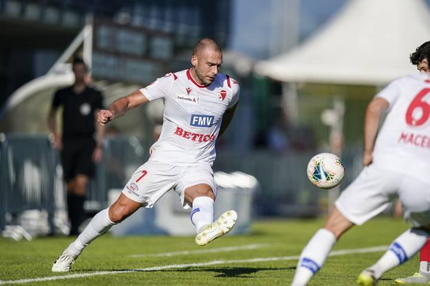 Stellt Pajtim Kasami am Sonntag ein erstes Mal als Spieler des FC Basel seine Technik unter Beweis?