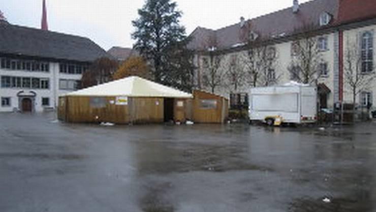 Muri: Hier am Adventsmarkt wüteten die Randalierer