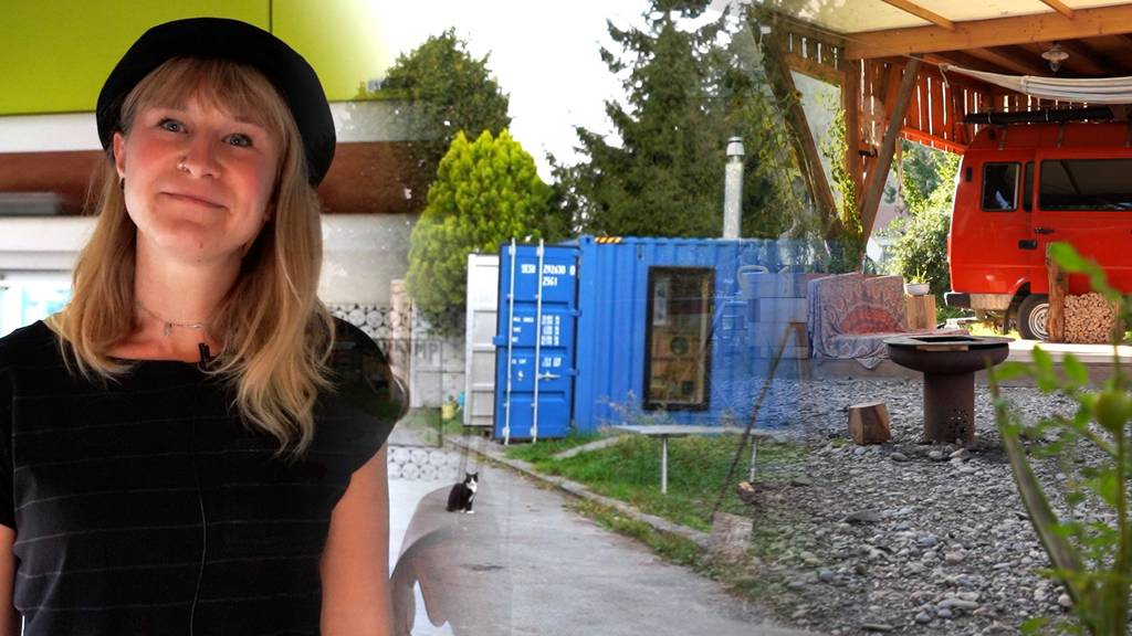 «Freiheit und Lebensqualität» – so ist das Leben in einer Containersiedlung