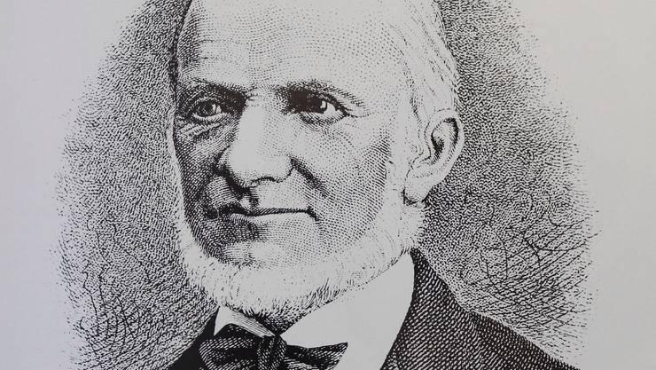 Johann Jakob Keller, 1823 bis 1903.