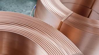 Kupfer, ein begeehrtes Material