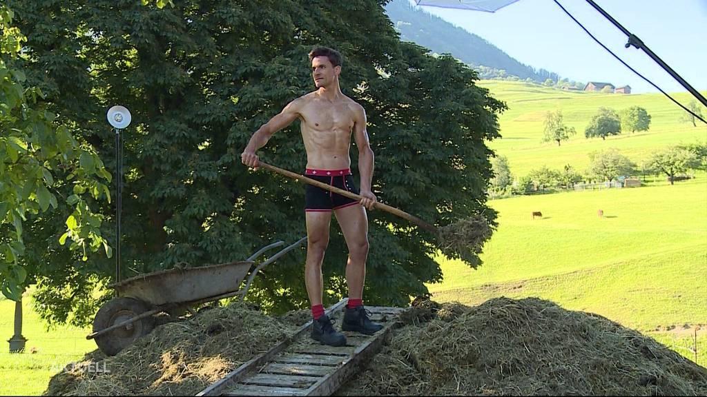 Tele M1-Moderator ist bald im Bauernkalender zu bestaunen