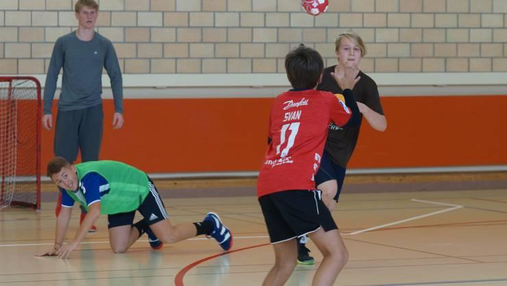Noch bis morgen Freitag läuft das Nachwuchs-Camp des Handballclubs Dietikon-Urdorf.