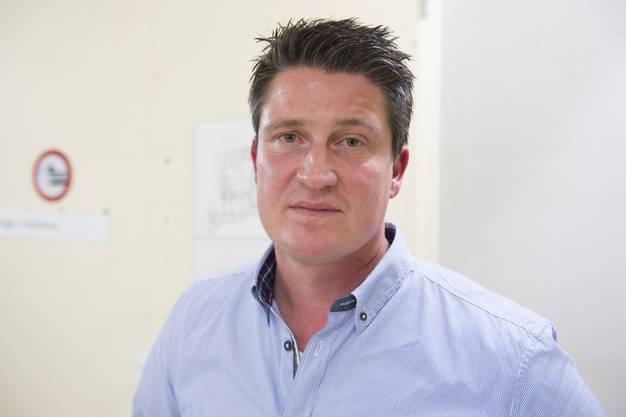 Sandro Vescovi, Leiter der Unterkunft.