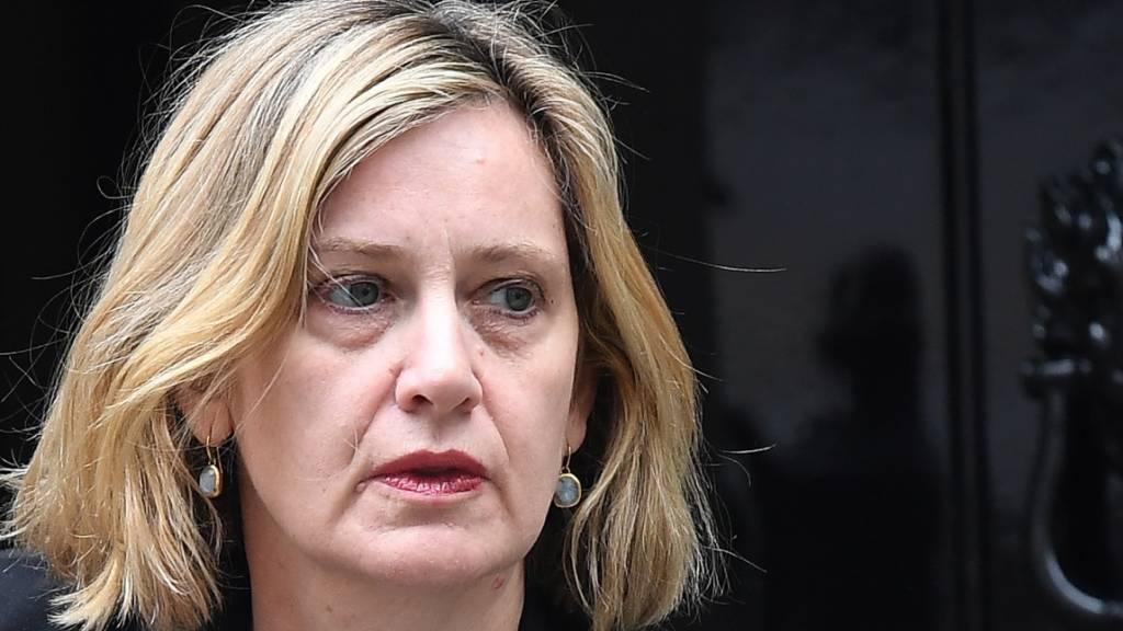 Britische Arbeitsministerin Amber Rudd zurückgetreten