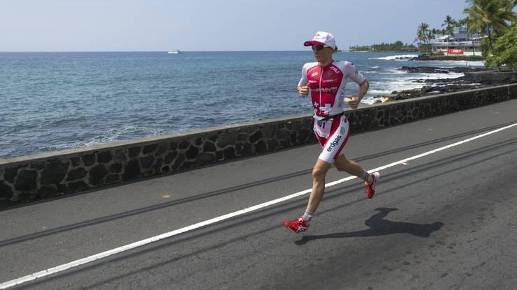 Daniela Ryf am letzjährigen Ironman auf Hawaii